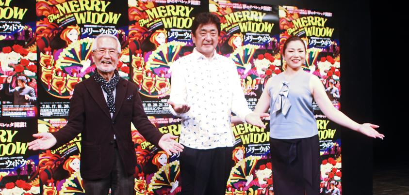 佐渡裕芸術監督プロデュースオペラ2021 喜歌劇『メリー・ウィドウ』の記者会見より=撮影・中田ゆりな