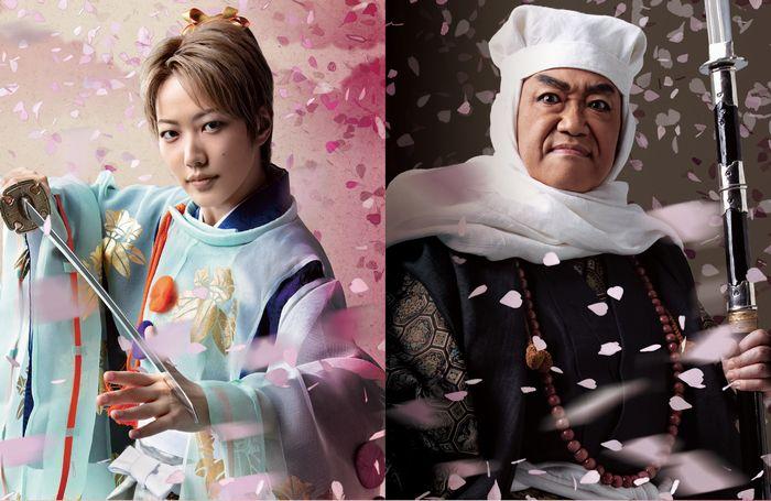(画像左)七海ひろきさん(画像右)コロッケさん