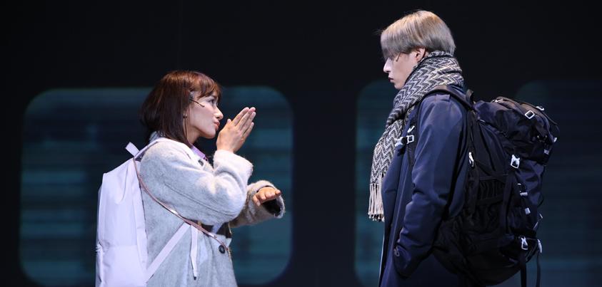 A New Musical『ゆびさきと恋々』より=写真提供・ワタナベエンターテインメント