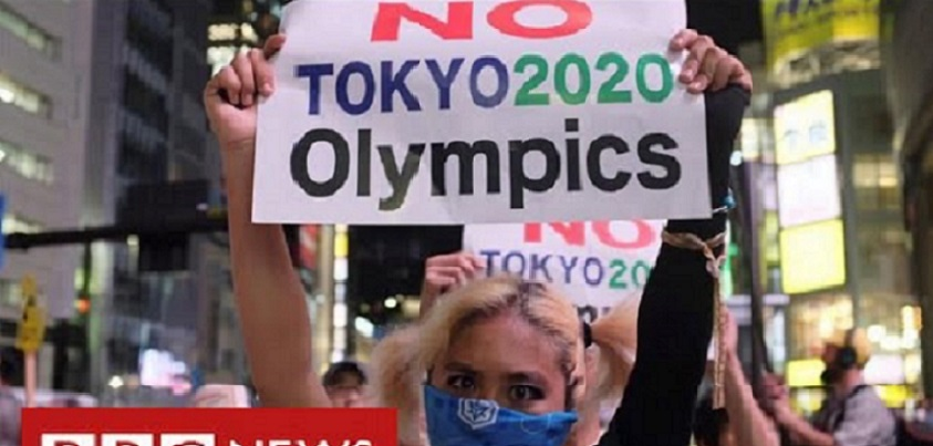 Japan argues over looming Olympics as Covid emergency extended  YouTubeチャンネルBBC NEWSより