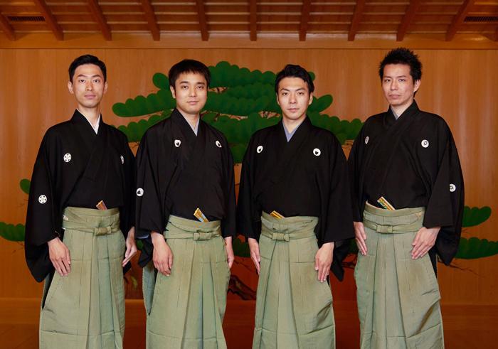 (写真左から)中村修一さん、飯田豪さん、内藤連さん、岡聡史さん=撮影・NORI
