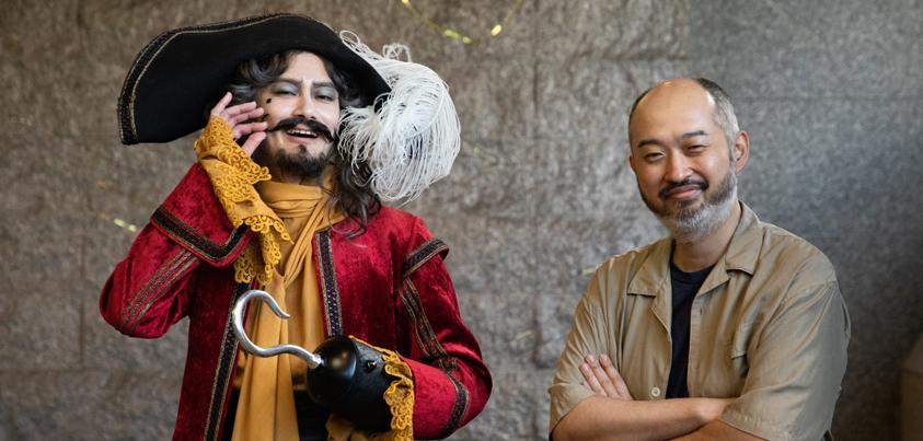 小西遼生さん(左)と森新太郎さん(右)=撮影・岩村美佳