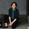 中川晃教さん(中央)と坂元健児さん(右)と上口耕平さん(左)=撮影・岩村美佳