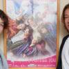 東山義久さん(右)と長澤風海さん(左)=撮影・NORI