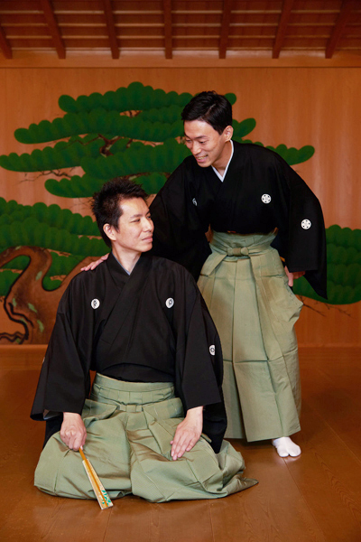 岡聡史さん(左)と中村修一さん=撮影・NORI