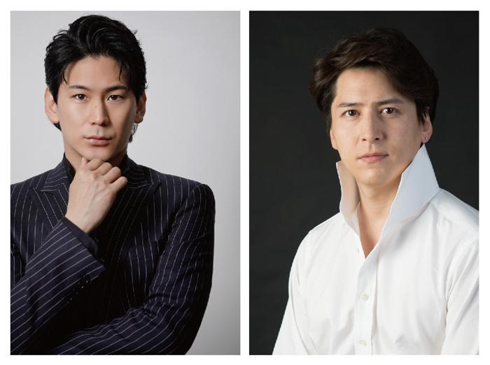 小野田龍之介さん(左)と伊礼彼方さん(右)