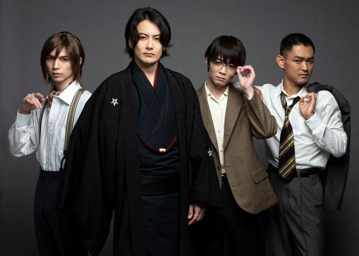 写真左から 北村諒さん、小西遼生さん、神澤直也さん、吉田雄さん