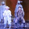 日生劇場ファミリーフェスティヴァル2021 音楽劇『あらしのよるに』ゲネプロより=撮影・伊藤華織