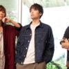 (左から)小山将平さん、海宝直人さん、西間木陽さん=撮影・岩村美佳