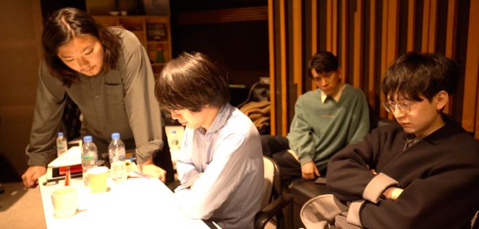 (左から)濵野杜輝さん、藤川大晃さん、竹内將人さん、大橋征人さん