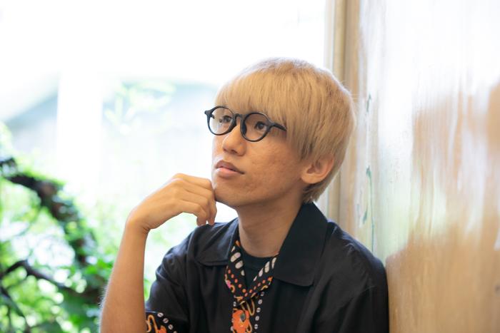 西間木陽さん=撮影・岩村美佳